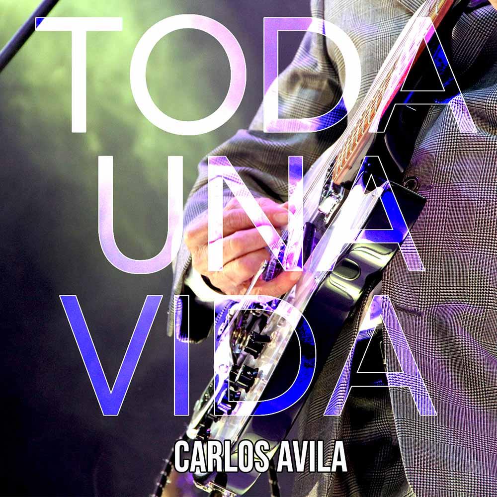 Portada del Álbum Carlos Avila